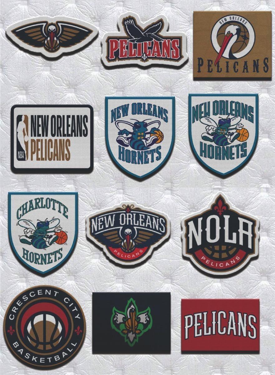 Parche Termoadhesivo Escudo New Orleans Pelicans Nba