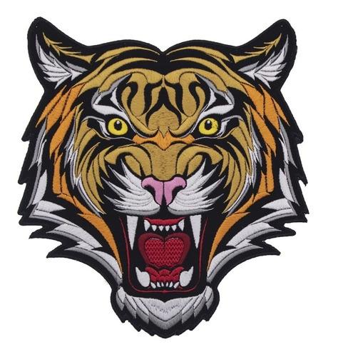 parche tigre bordado zenkir moda tipo gucci