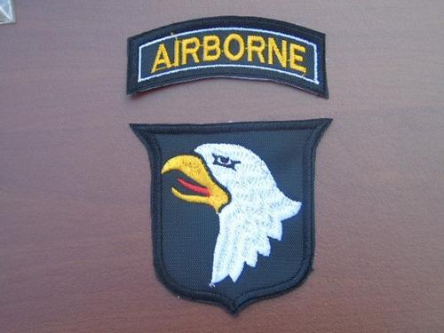 parches 101a. división aerotransportada usa segunda guerra