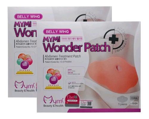 parches 2x1 adegalzante para vientre abdomen wonder patch