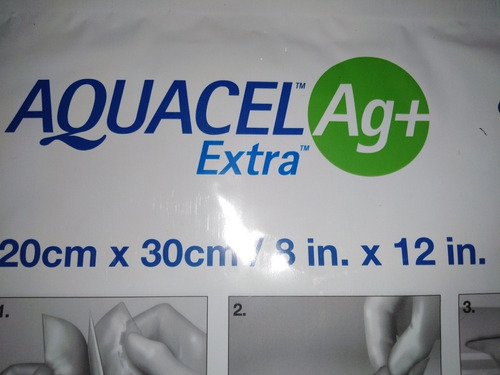 parches aquacel ag+ extra 20cm x 30cm/ 8 in x 12 in