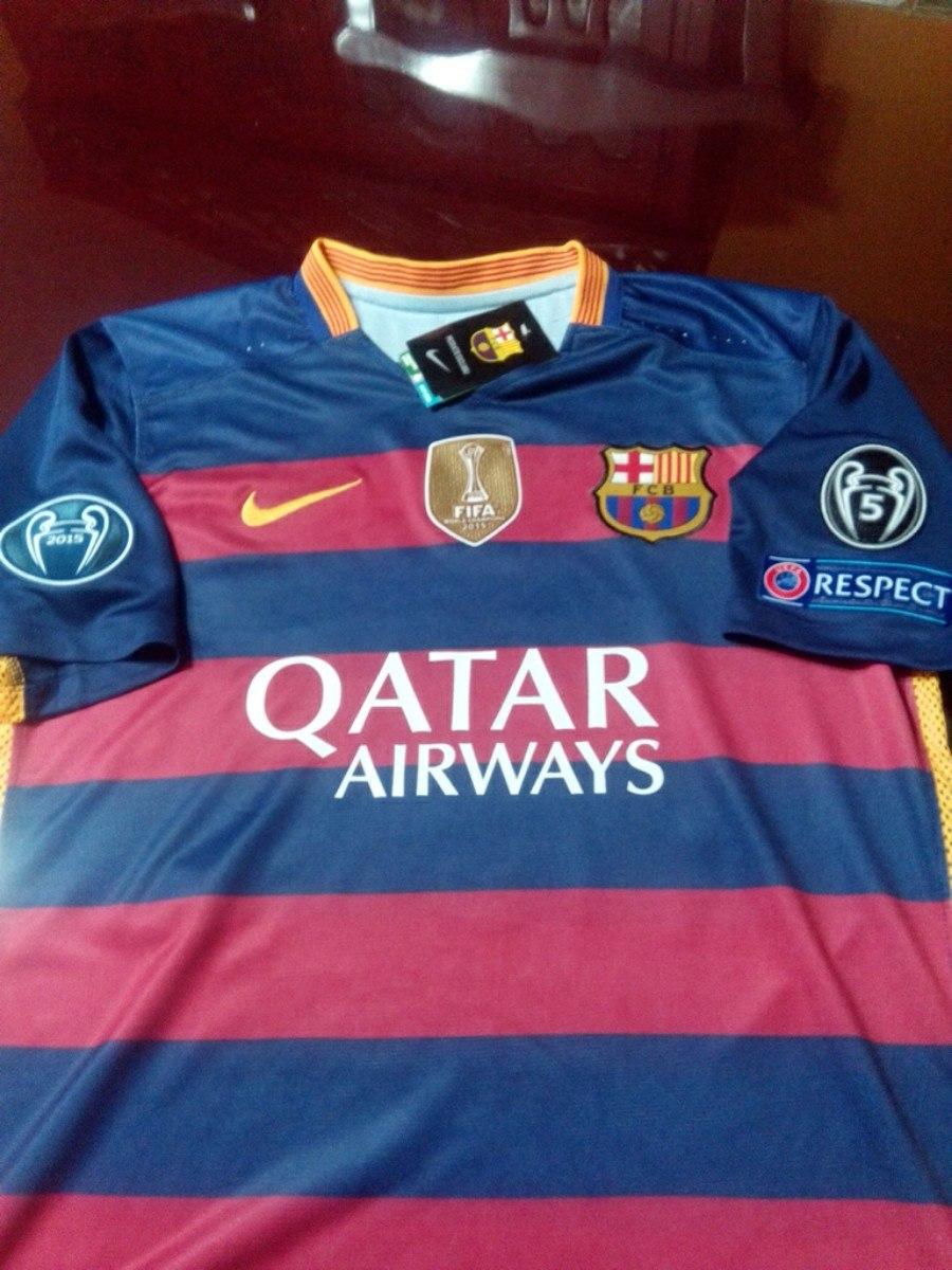 Parches Barcelona Champions League 2015 2016 130 00 En
