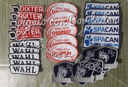 parches bordados personalizados apliques souvenir logos