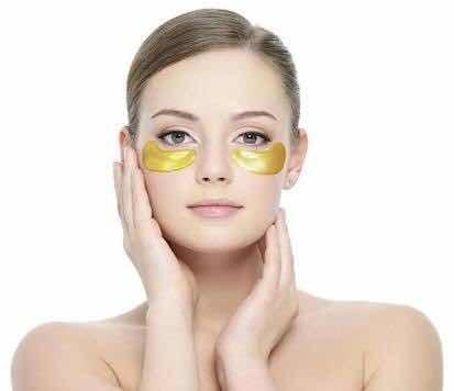 parches colágeno + oro 24k antiojeras hidratante mayoreo ojo