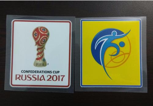 parches copa confederaciones rusia 2017 mexico alemania