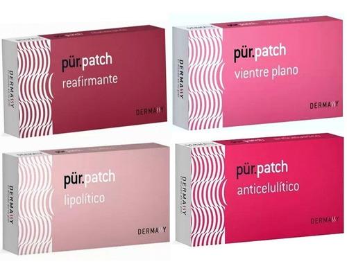 parches corporales set 4 cajas pur patch dermassy