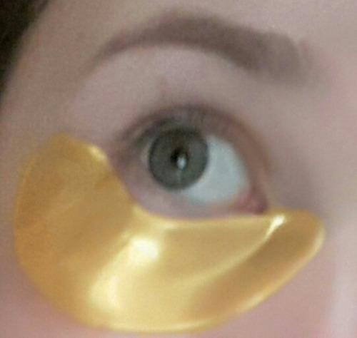 parches de colageno crystal gold para ojeras arrugas s/2.9