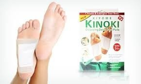 parches de desintoxicacion kinoki foot pads tv impurezas pie