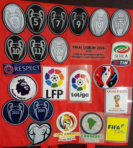 parches de fútbol champions league,russia 2018,entre otros