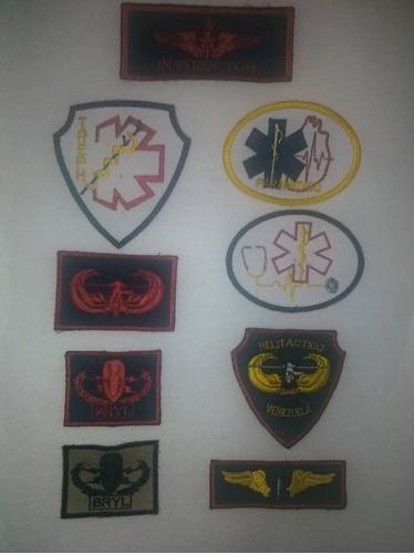 parches e insignias paramedicos - bomberos - rescate - pc