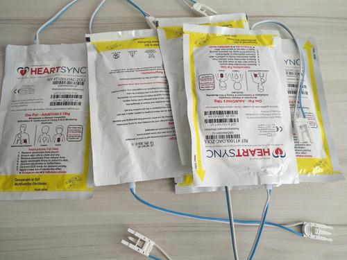 parches, electrodos desfibrilador zoll series m,r,e. nuevos