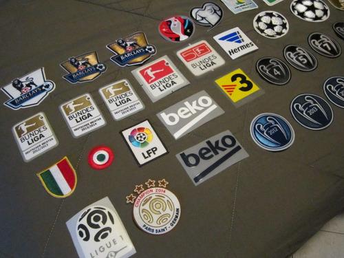 parches futbol champions league copas ligas europa campeon
