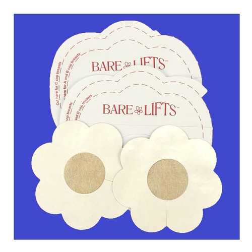 parches levanta busto + pezoneras bare lifts 4 piezas invisi