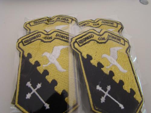 parches militares bordados