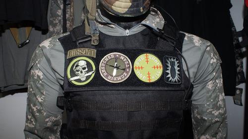 parches militares velcro marca rothco  guerrera o chaqueta