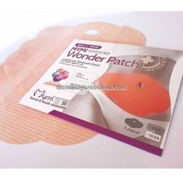 parches para adelgazar abdomen wonder patch 100% natural x5