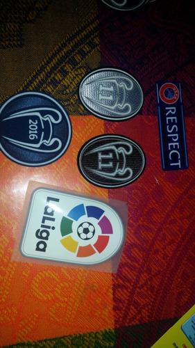 parches para clubes y ligas europeas