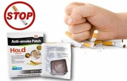 Parche de nicotina para dejar de fumar