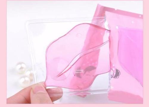 parches pilaten cristales colageno labios sexys mascarilla