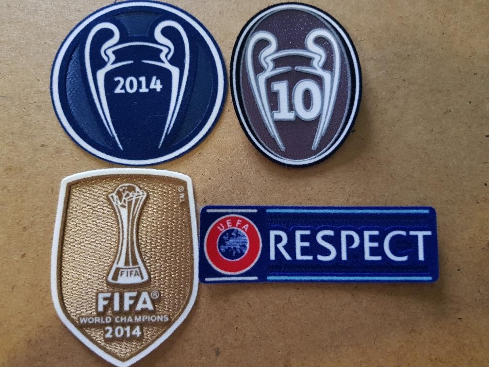 Parches Real Madrid 2014 2015 Champions League -   420.00 en Mercado ... 68bf459f4079e
