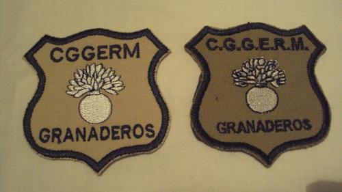 parches regimiento granaderos