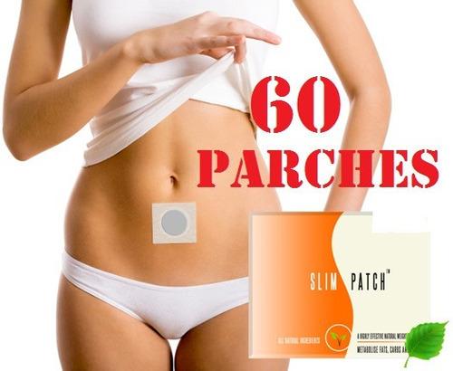 parches slim patch, adelgazar, adelgazante, para 60 dias