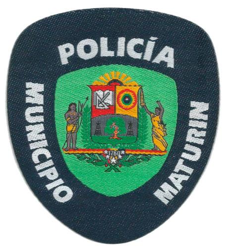 parches tejidos para vigilantes oficiales seguridad policias