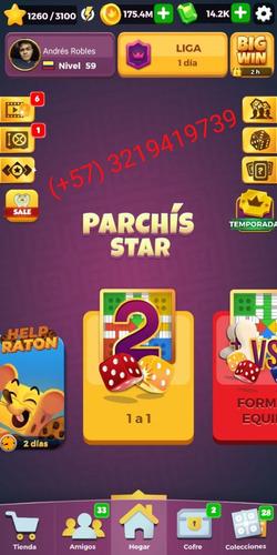 parchis star + venta de oro + 100% confiable cualquier país