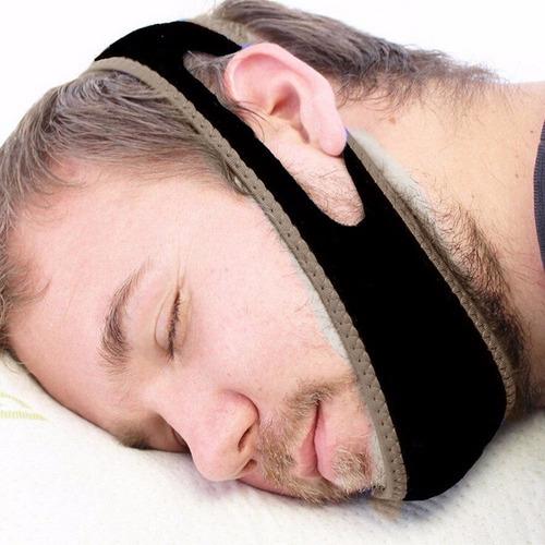 pare de roncar faixa anti ronco apneia poliamida durma bem