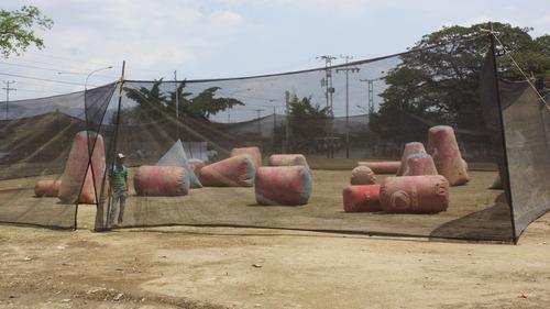 pared de escalada, tirolina, inflables, rampas, paintball,dx