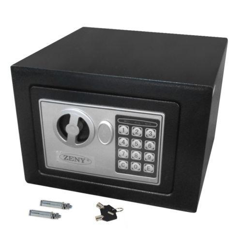 pared de la caja de seguridad caja fuerte electrónica