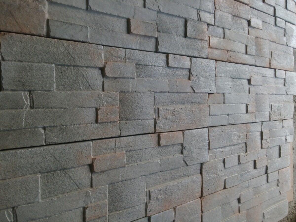 Revestimiento para pared imitacion piedra 55 00 en for Lavabos imitacion piedra