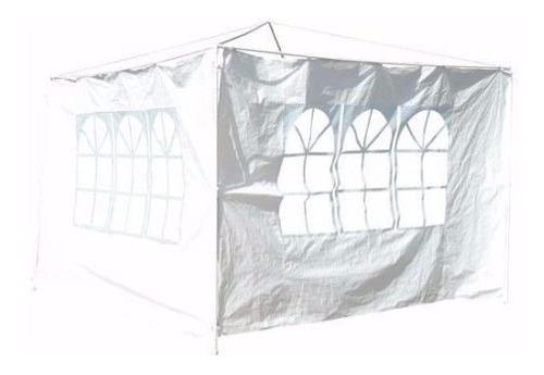 pared rafia ventanas gazebo de 3x3mts cobertor jardin fiesta