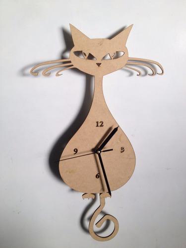 Reloj De Pared Moderno De Cola De Pendulo No Incluye Reloj ... dcd3ed99c86c