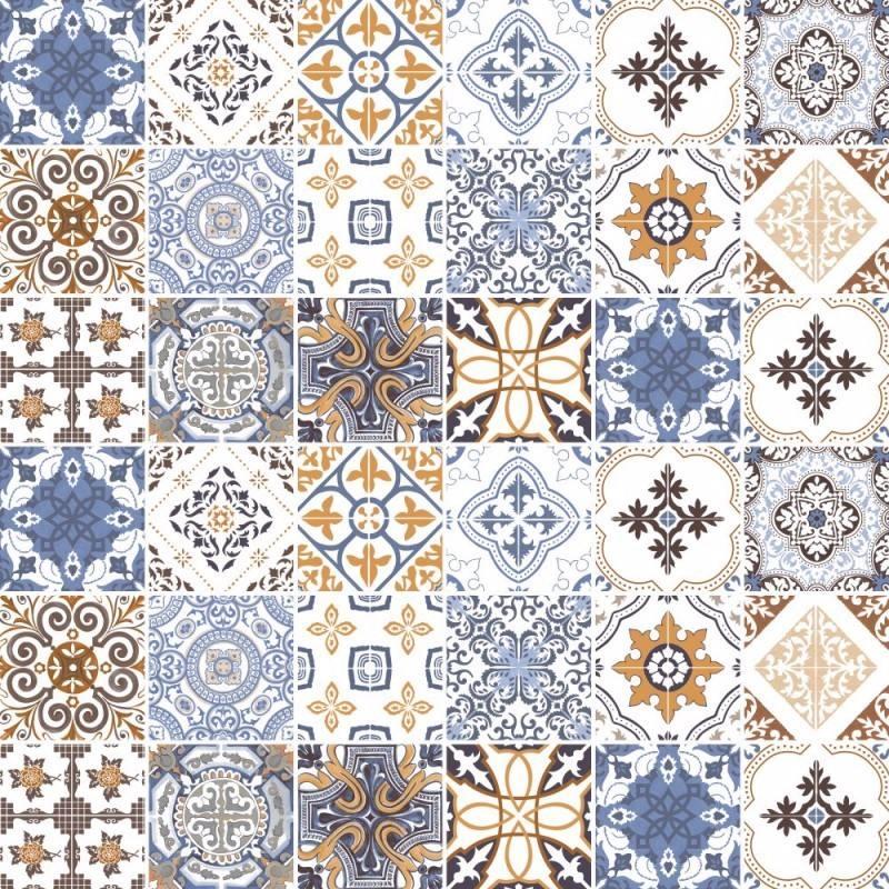 Adesivos de parede azulejos portugueses 561 r 59 00 for Azulejos para paredes