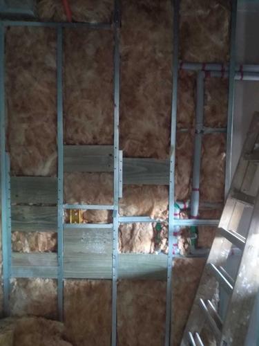 parede em drywall &  forro acartonado