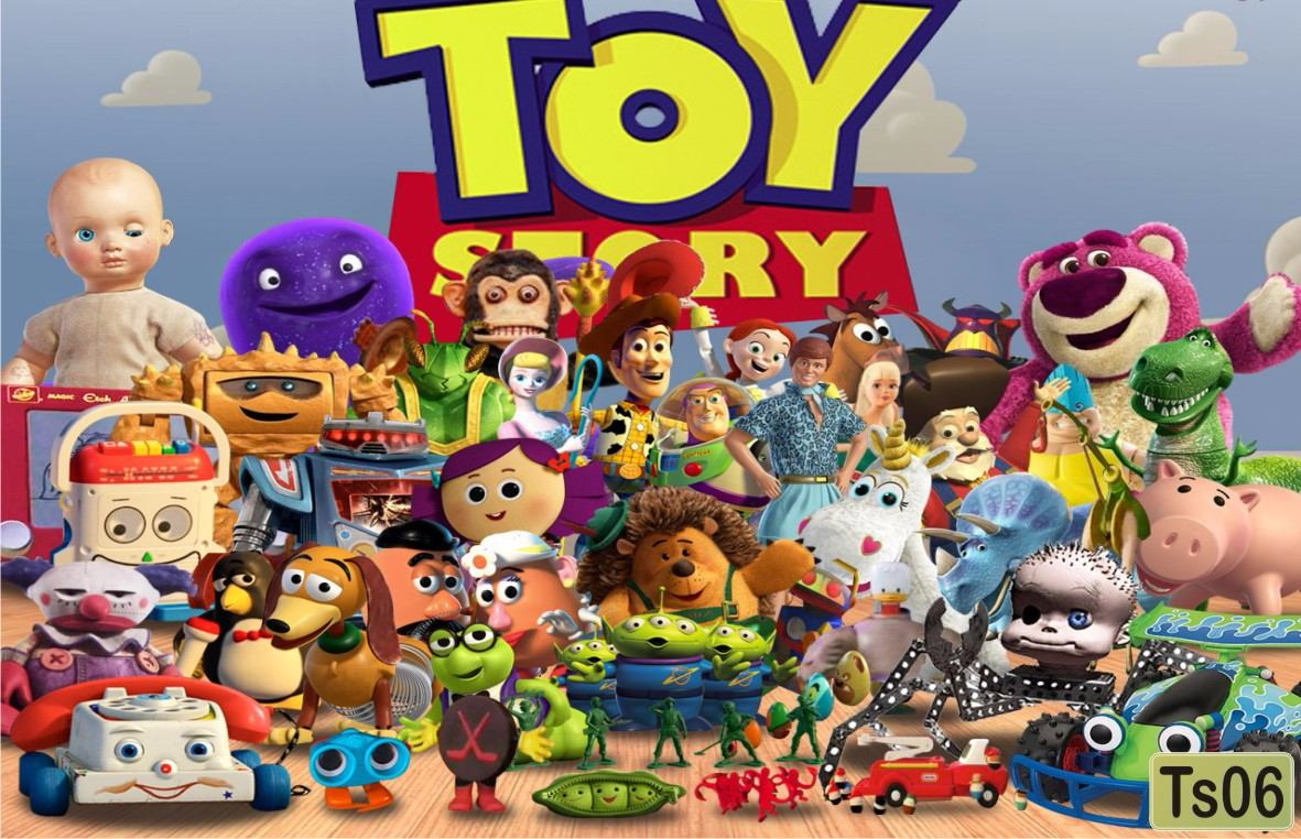 Quarto Toy Story ~ Papel De Parede Infantil Toy Story M u00b2 R$ 45,00 em Mercado Livre