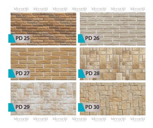 parede papel adesivo decorativo tijolo pedra canjica lavável