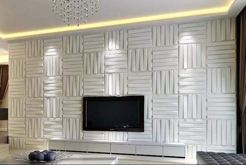 paredes 3d board panel decorativo bladet 50 x 50 cm vb 007
