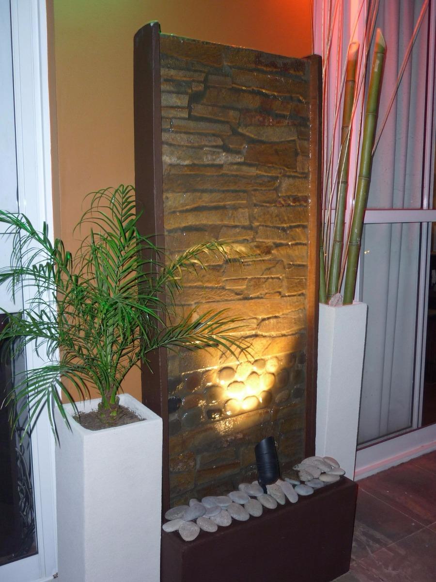 Paredes y muros de agua fuentes de agua imagen - Fuente decoracion interior ...