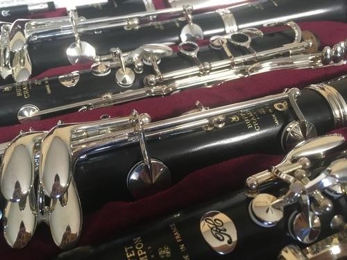 pareja clarinetes buffet crampon sib/la modelos rc nuevos
