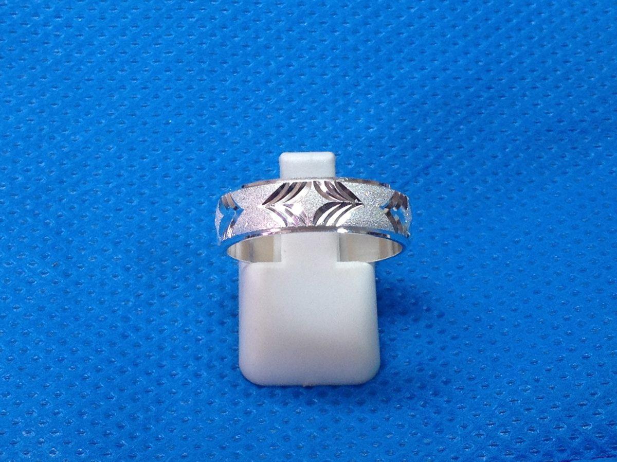 Pareja de aros de boda en plata 925 an001 al mejor precio bs en mercado libre - Cuberterias de plata precios ...