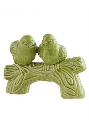 pareja de aves verdes 52564