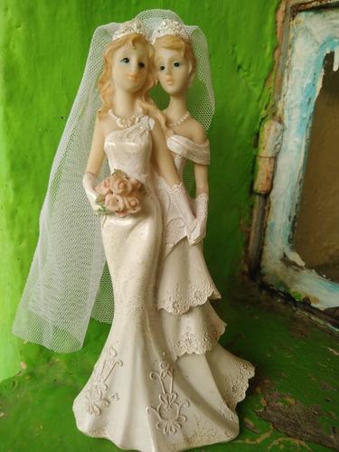 pareja de novias 18cm
