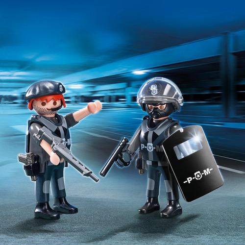 pareja de policias juguete playmobil r5220