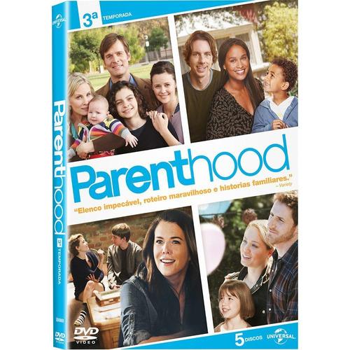 parenthood - 3ª temporada- box 5 dvds
