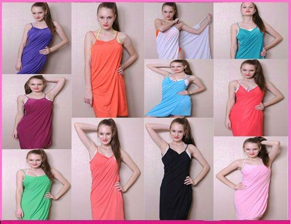 ab898dd8 Pareo Vestido Multiuso Multialle Remera Jean Pollera Bikini - $ 438 ...