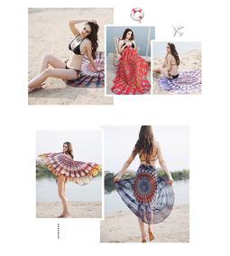 d36de91dba11 Pareo Vestido Verano Playa Traje De Baño Bikini Tapiz