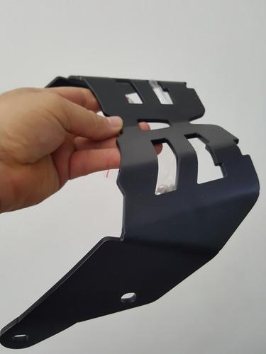 pariilla metalica de lujo para yamaha bws 125