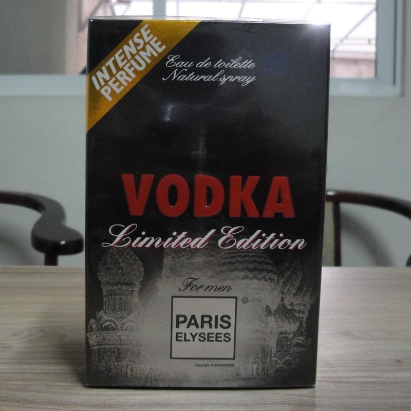 45000dd616 Características. Marca Paris Elysees  Linha Vodka Collection  Nome do perfume  Vodka  Versão Limited Edition  Gênero Masculino  Tipo Eau de toilette ...